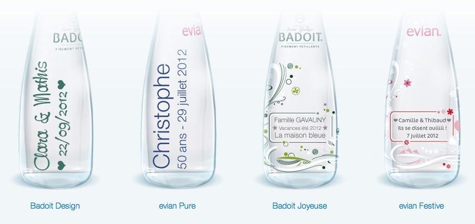 Fabulous Des bouteilles d'eau personnalisées - SW59