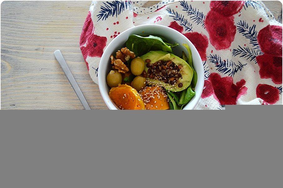 Exceptionnel Astuce 2 pour manger plus équilibré le midi: Buddha bowl - KU29